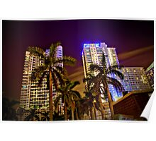 Miami Nights - Brickell V Poster