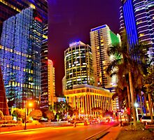 Miami Nights - Brickell VII by Terry Neves