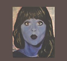 Zooey Deschanel goes Violet Womens Fitted T-Shirt