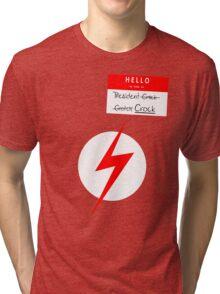 President Crock (Uncensored) Tri-blend T-Shirt