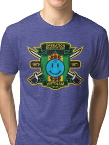 Watchmen - Nam Patch (embroidered) v2 Tri-blend T-Shirt