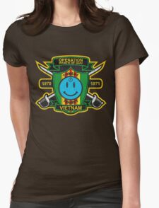 Watchmen - Nam Patch (embroidered) v2 Womens Fitted T-Shirt
