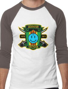 Watchmen - Nam Patch Men's Baseball ¾ T-Shirt