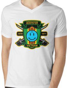 Watchmen - Nam Patch Mens V-Neck T-Shirt