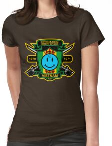 Watchmen - Nam Patch Womens Fitted T-Shirt