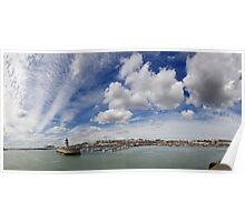 Harbour Panorama Poster