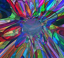 A Different, Psychodelic Rabbit Hole by Sazzart