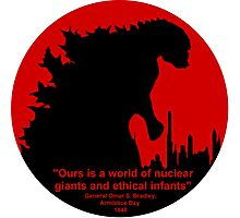 Godzilla - Nuclear Giant Photographic Print