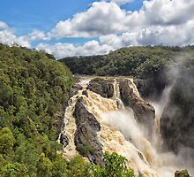 Barron Falls after a tropical storm by hereswendy