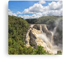 Barron Falls after a tropical storm Metal Print