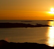 Golden Swedish Sunset by 35millimetre