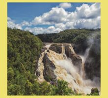 Barron Falls after a tropical storm Kids Clothes