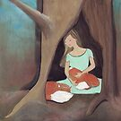 A Girl and her foxes by Helga McLeod