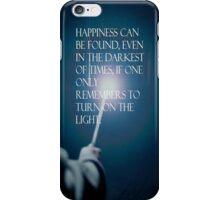 Harry potter qoute iPhone Case/Skin
