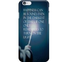 Harry potter qoute iPhone Case/Skin