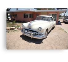 Route 66 - Classic Pontiac Canvas Print