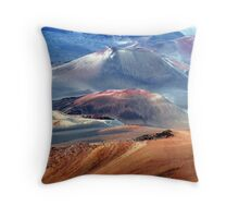 Haleakala Volcano Throw Pillow