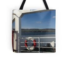 From the Foyle Ferry, Ireland Tote Bag