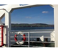 From the Foyle Ferry, Ireland Photographic Print
