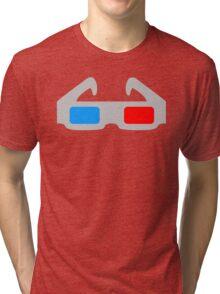 3D Glasses Tri-blend T-Shirt