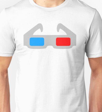 3D Glasses Unisex T-Shirt