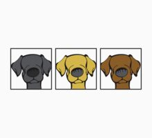My Three Labs by Angry Squirrel Studio