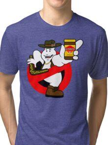 GB: Australia No-Ghost (Ectomite) Tri-blend T-Shirt