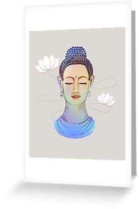 Buddha by rainbowflowers