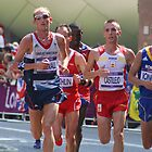 Scott Overall Team GB - London Olympic Marathon - 2012 by Colin  Williams Photography