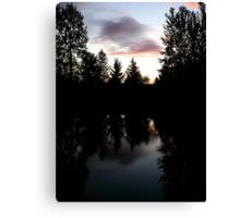 Twilight Reflections Canvas Print