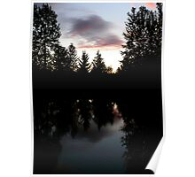 Twilight Reflections Poster