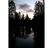 Twilight Reflections Photographic Print