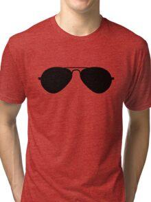 Aviator Sunglasses Tri-blend T-Shirt