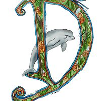 """""""D"""" is for Dolphin by Jewel  Charsley"""