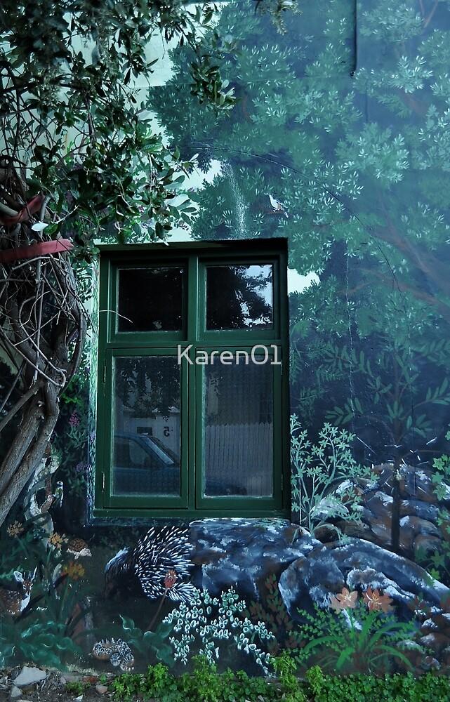 Window to their world by Karen01