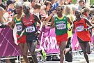 Gold And Silver - Mens Olympic Marathon - London 2012 by Colin J Williams Photography