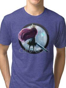 child of light - girl Tri-blend T-Shirt