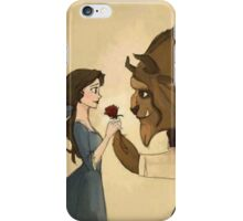 Beauty and The Beast lovely iPhone Case/Skin