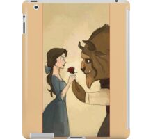 Beauty and The Beast lovely iPad Case/Skin