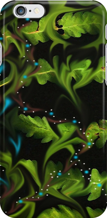 iPhone Case of painting...Amalgamate... by linmarie