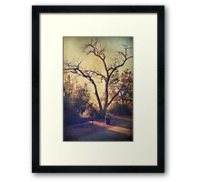 Let Us Sit Side By Side Framed Print