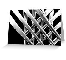 Crossed Forks Greeting Card