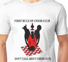 First Rule of Chess Club Unisex T-Shirt
