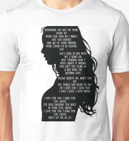 "One Direction  - ""Olivia"" Unisex T-Shirt"