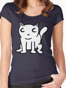 Meet Cat Cat Women's Fitted Scoop T-Shirt