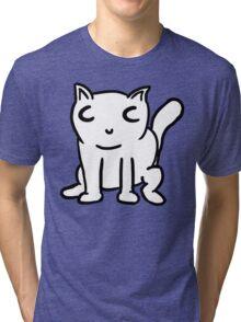 Meet Cat Cat Tri-blend T-Shirt