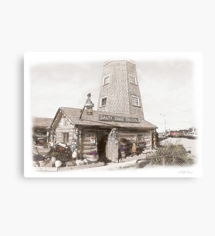 The Salty Dawg Saloon Canvas Print