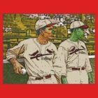 Dizzy and Daffy Dean St. Louis Cardinals Culture Cloth Zinc Collection by CultureCloth