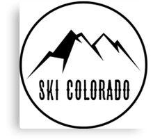 Ski Colorado Canvas Print