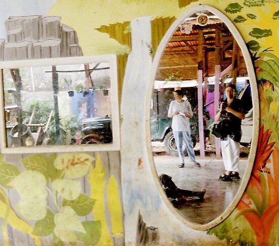 Mirrored World - self portrait by steppeland
